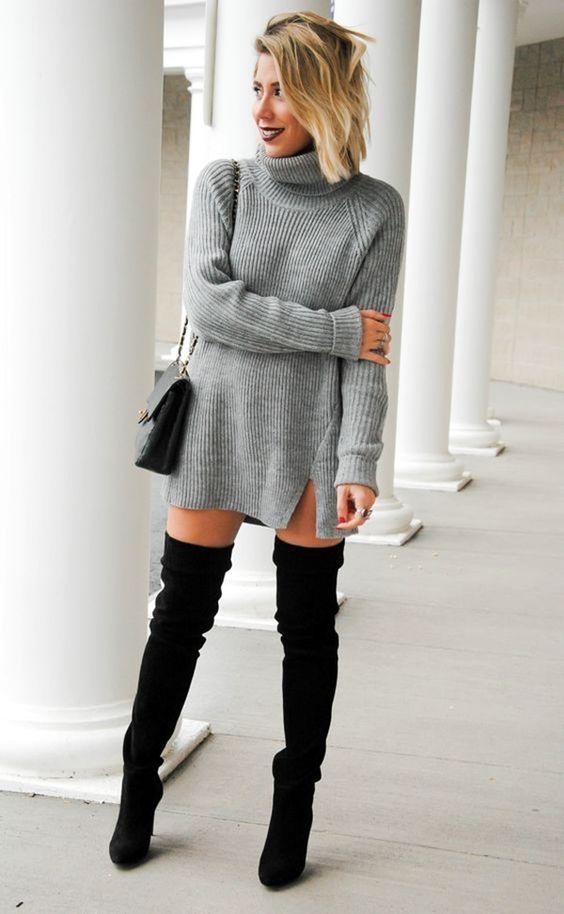Come indossare gli stivali cuissardes