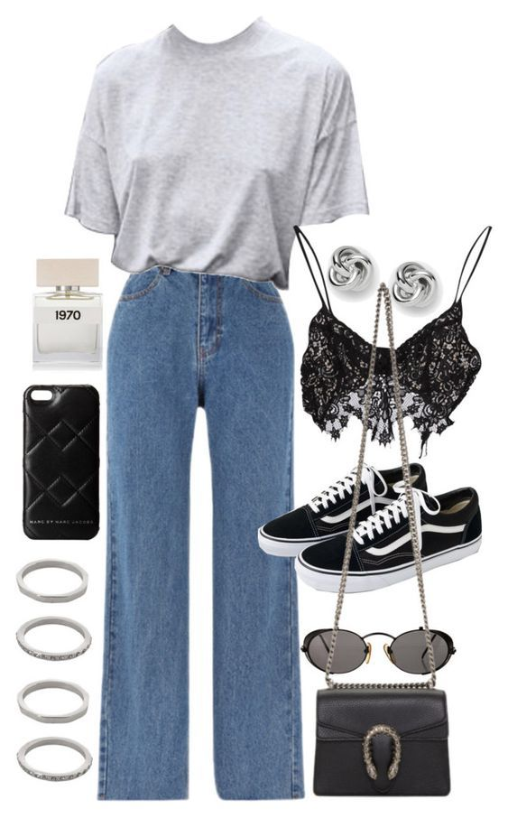 Idea look #4 Jeans + t-shirt