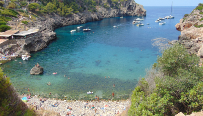 Cala Deìa - Palma di Maiorca