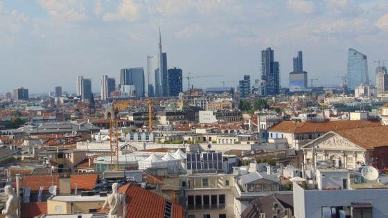 Vista panoramica dalle Terrazze del Duomo