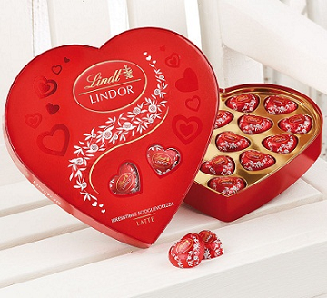 Scatola cioccolatini Lindor