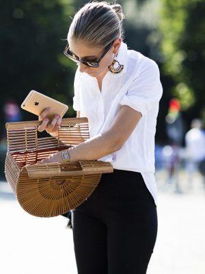 borsa di paglia