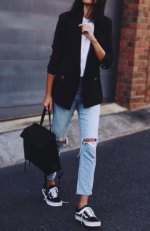Look da ufficio - jeans