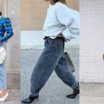 Slouchy jeans outfit