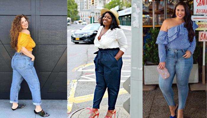 Donne curvy: quali jeans scegliere per valorizzarsi