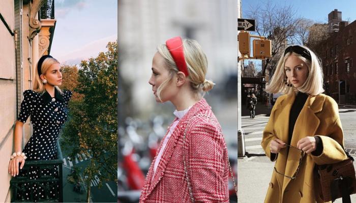 Come indossare il cerchietto: 5 idee da copiare