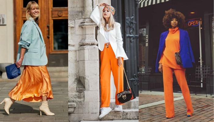 arancione colore tendenza