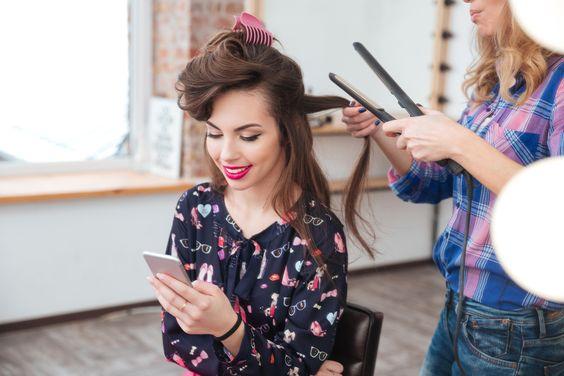 ridurre utilizzo piastra per capelli