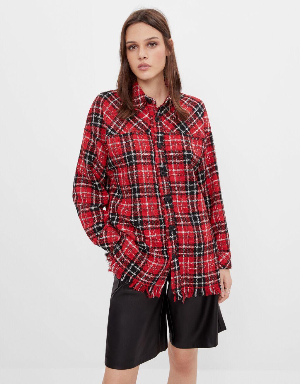 giacca-camicia bershka