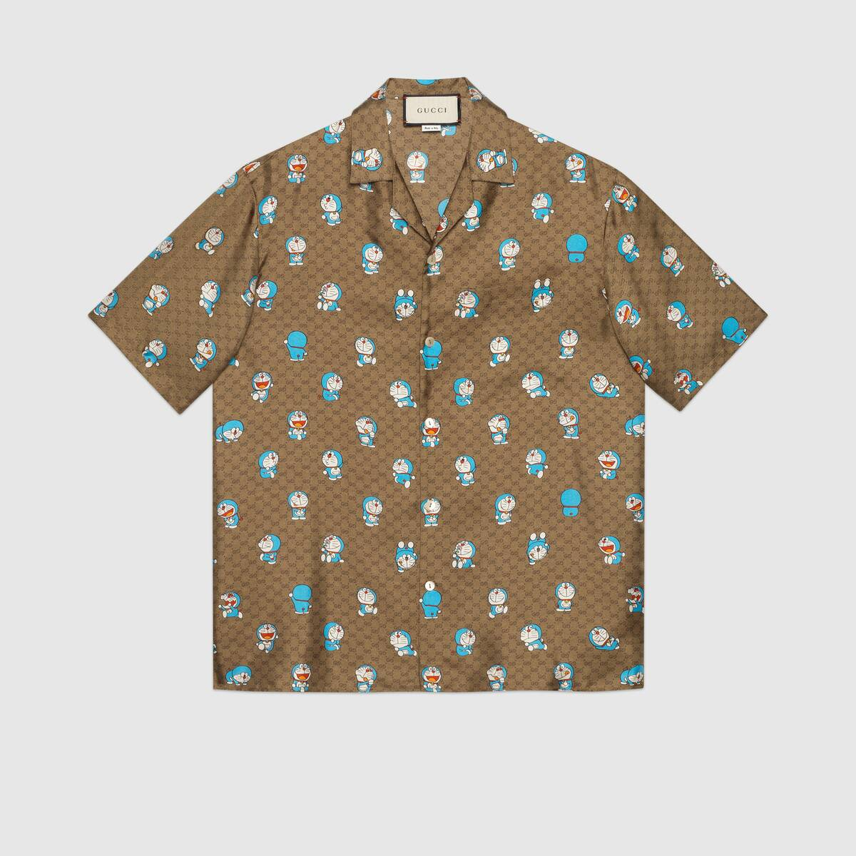camicia da bowling seta