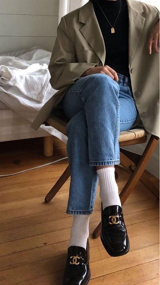 quali calze indossare per i mocassini