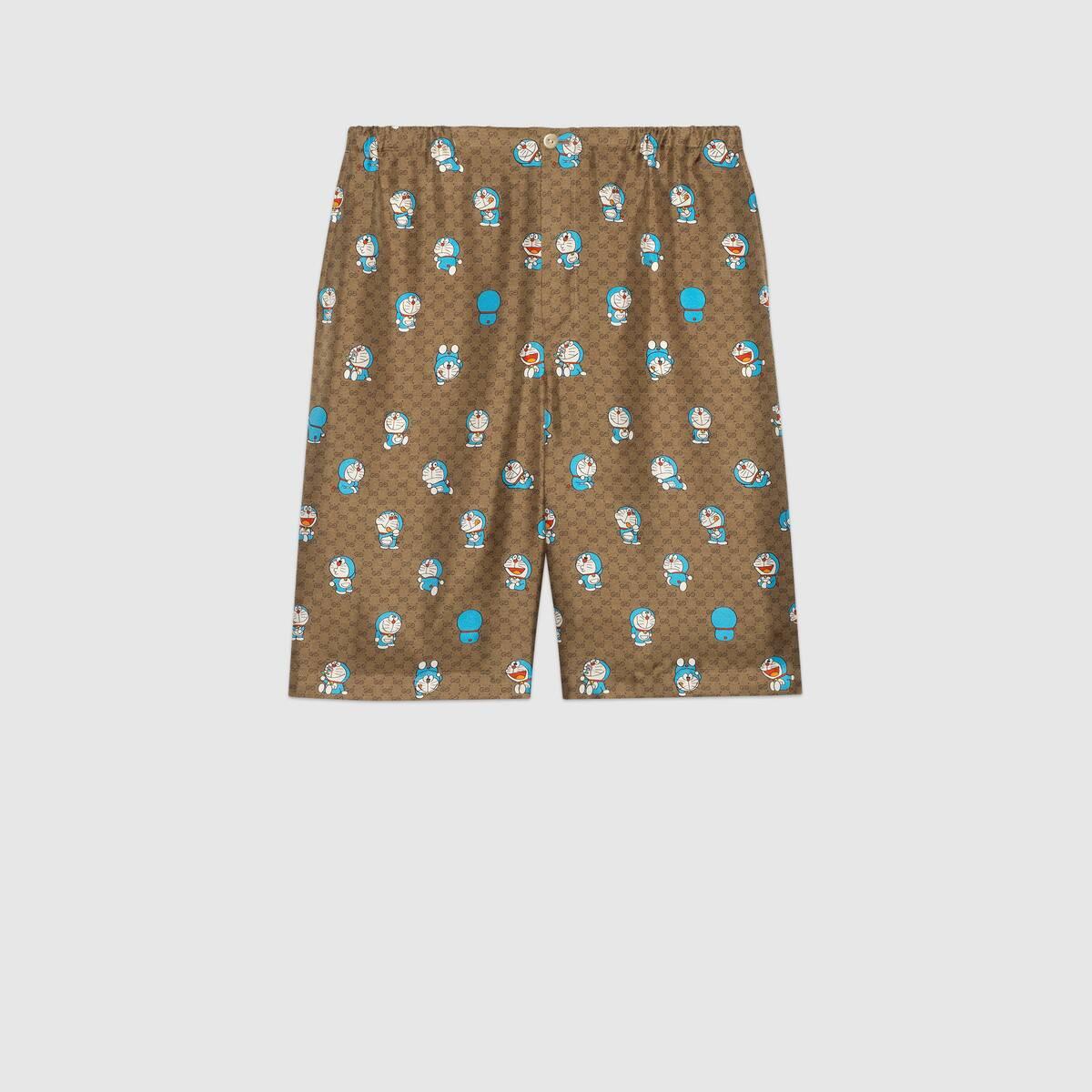 shorts in seta Gucci