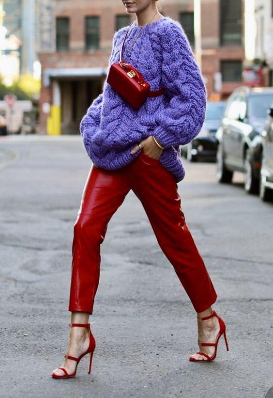 rosso e viola