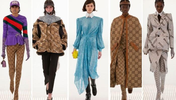 Gucci e Balenciaga