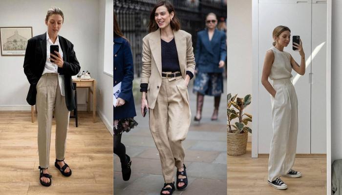 Pantaloni in lino: idee su come indossarli