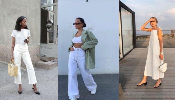 Come indossare il total white in estate: 5 idee look
